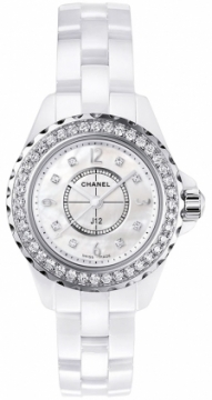 Chanel J12 Quartz 29mm Ladies watch, model number - h2572, discount price of £7,310.00 from The Watch Source