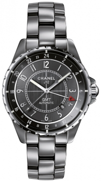 Chanel J12 GMT 41mm Midsize watch, model number - h3099, discount price of £4,335.00 from The Watch Source