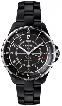Chanel J12 GMT 41mm Midsize watch, model number - h3101, discount price of £4,335.00 from The Watch Source