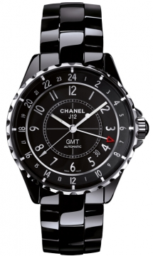 Chanel J12 GMT 41mm Midsize watch, model number - h3102, discount price of £3,590.00 from The Watch Source