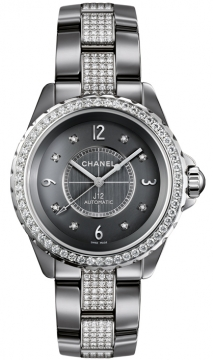 Chanel J12 Automatic 38mm Ladies watch, model number - h3106, discount price of £31,420.00 from The Watch Source