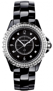 Chanel J12 Quartz 33mm Ladies watch, model number - H3108, discount price of £8,560.00 from The Watch Source