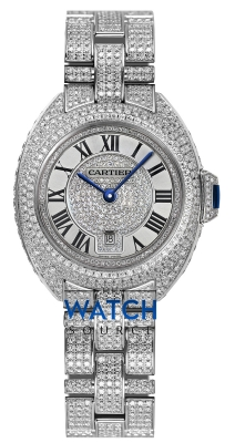 Buy this new Cartier Cle De Cartier Automatic 31mm hpi00980 ladies watch for the discount price of £92,400.00. UK Retailer.