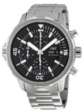 IWC Aquatimer Automatic Chronograph 44mm Mens watch, model number - iw376804, discount price of £5,090.00 from The Watch Source
