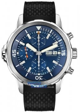 Buy this new IWC Aquatimer Automatic Chronograph 44mm iw376805 mens watch for the discount price of £5,580.00. UK Retailer.