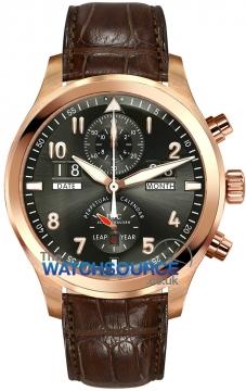 IWC Pilot's Watch Spitfire Perpetual Calendar Digital  Date Month Mens watch, model number - iw379103, discount price of £36,125.00 from The Watch Source