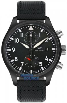 Buy this new IWC Pilot's Chronograph TOP GUN iw389001 mens watch for the discount price of £8,977.50. UK Retailer.
