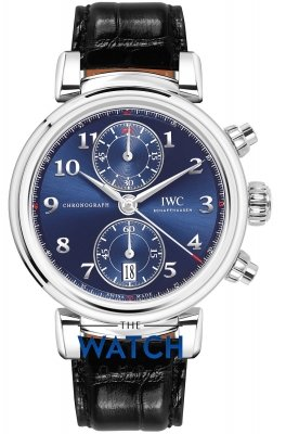 IWC Da Vinci Chronograph 42mm iw393402 watch