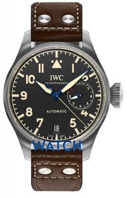 Buy this new IWC Big Pilot's Watch iw501004 mens watch for the discount price of £10,497.00. UK Retailer.
