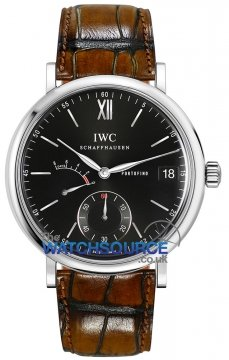 IWC Portofino Hand Wound Eight Days 45mm Mens watch, model number - iw510102, discount price of £6,715.00 from The Watch Source