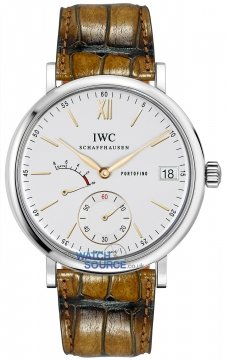 IWC Portofino Hand Wound Eight Days 45mm Mens watch, model number - iw510103, discount price of £6,715.00 from The Watch Source