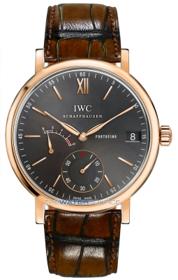 IWC Portofino Hand Wound Eight Days 45mm iw510104 watch