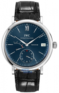 IWC Portofino Hand Wound Eight Days 45mm Mens watch, model number - iw510106, discount price of £6,715.00 from The Watch Source