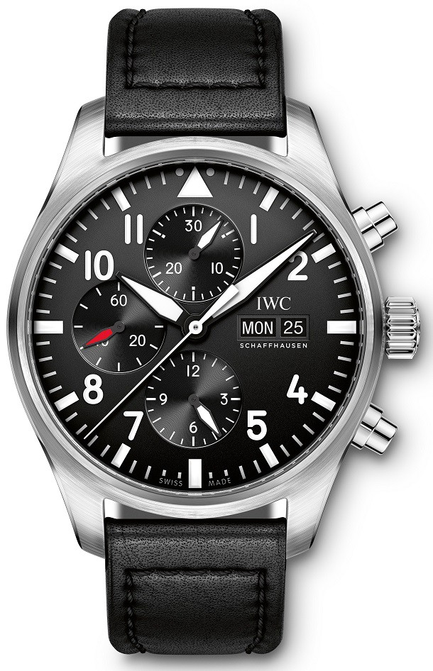 eebe3eaecda Buy this new IWC Pilot s Watch Chronograph iw377709 mens watch for ...