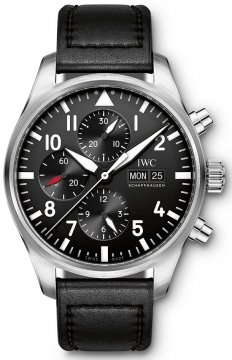 Buy this new IWC Pilot's Watch Chronograph iw377709 mens watch for the discount price of £4,071.00. UK Retailer.