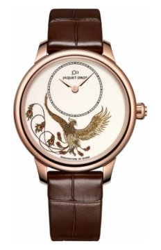 Jaquet Droz Les Ateliers d'Art Petite Heure Minute Enamel Painting 35mm Ladies watch, model number - j005003201 PHOENIX, discount price of £17,730.00 from The Watch Source
