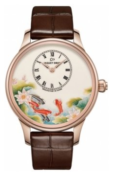 Jaquet Droz Les Ateliers d'Art Petite Heure Minute Enamel Painting 39mm Ladies watch, model number - j005013203 CARPS, discount price of £21,690.00 from The Watch Source