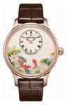 Jaquet Droz Les Ateliers d'Art Petite Heure Minute Enamel Painting 39mm j005013203 CARPS watch