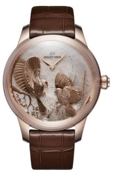 Jaquet Droz Les Ateliers d'Art Petite Heure Minute Relief j005023270 SEASONS FALL watch