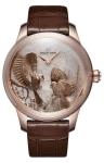 Jaquet Droz Les Ateliers d'Art Petite Heure Minute Relief j005023270 SEASONS FALL watch
