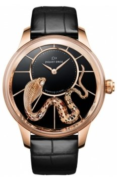 Jaquet Droz Les Ateliers d'Art Petite Heure Minute Relief Ladies watch, model number - j005023273 SNAKE, discount price of £53,280.00 from The Watch Source