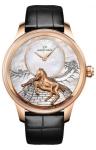 Jaquet Droz Les Ateliers d'Art Petite Heure Minute Relief j005023275 HORSE watch