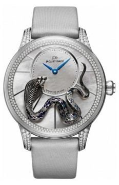Jaquet Droz Les Ateliers d'Art Petite Heure Minute Relief Ladies watch, model number - j005024273 SNAKE, discount price of £59,670.00 from The Watch Source