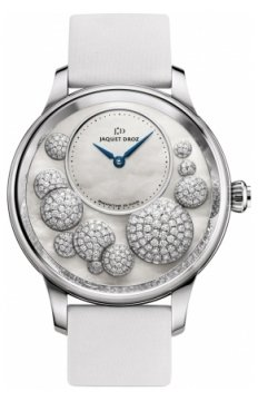 Jaquet Droz Petite Heure Minute Heure Celeste Ladies watch, model number - j005024534, discount price of £23,130.00 from The Watch Source