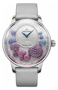 Jaquet Droz Petite Heure Minute Heure Celeste Ladies watch, model number - j005024537, discount price of £21,070.00 from The Watch Source