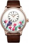 Jaquet Droz Les Ateliers d'Art Petite Heure Minute Relief j005033283 BUTTERFLY JOURNEY watch