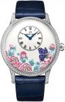 Jaquet Droz Les Ateliers d'Art Petite Heure Minute Relief j005034272 BUTTERFLY JOURNEY watch