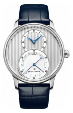 Jaquet Droz Grande Seconde Quantieme 39mm Mens watch, model number - j007010240, discount price of £5,730.00 from The Watch Source