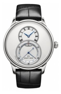 Jaquet Droz Grande Seconde Quantieme 43mm Mens watch, model number - j007030242, discount price of £5,655.00 from The Watch Source