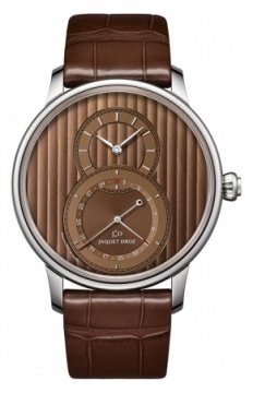 Jaquet Droz Grande Seconde Quantieme 43mm Mens watch, model number - j007030246, discount price of £6,291.00 from The Watch Source