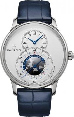 Jaquet Droz Grande Seconde Dual Time 43mm j016030241 watch