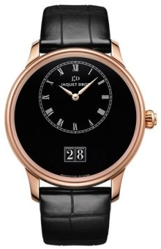Jaquet Droz Petite Heure Minute Grande Date 43mm Mens watch, model number - j016933210, discount price of £16,560.00 from The Watch Source