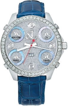 Jacob & Co Five Time Zone - 47mm, 3.25ct Bezel Mens watch, model number - JC-30b 3.25 carat bezel, discount price of £15,480.00 from The Watch Source