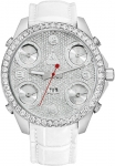 Jacob & Co Five Time Zone - 47mm, 3.25ct Bezel JC-34 3.25 carat bezel watch