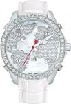 Jacob & Co Five Time Zone - 47mm, 3.25ct Bezel JC-47ww 3.25 carat bezel watch