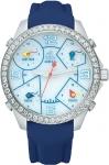 Jacob & Co Five Time Zone - 40mm, 2ct Bezel JC-M12 2.00 carat bezel watch