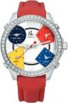 Jacob & Co Five Time Zone - 40mm, 2ct Bezel JC-M1 2.00 carat bezel watch
