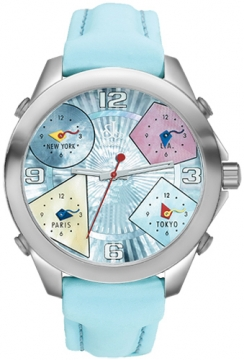 Jacob & Co Five Time Zone - 40mm Mens watch, model number - JC-M23, discount price of £3,540.00 from The Watch Source