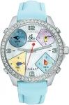 Jacob & Co Five Time Zone - 40mm, 2ct Bezel JC-M24 2.00 carat bezel watch