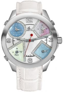 Jacob & Co Five Time Zone - 40mm Mens watch, model number - JC-M24da, discount price of £4,740.00 from The Watch Source