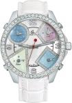Jacob & Co Five Time Zone - 40mm, 2ct Bezel JC-M24da 2.00 carat bezel watch