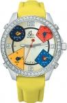 Jacob & Co Five Time Zone - 40mm, 2ct Bezel JC-M25 2.00 carat bezel watch