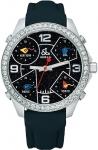 Jacob & Co Five Time Zone - 40mm, 2ct Bezel JC-M29 2.00 carat bezel watch