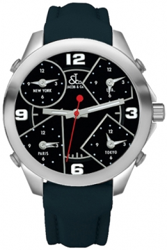 Jacob & Co Five Time Zone - 40mm Mens watch, model number - JC-M2, discount price of £3,300.00 from The Watch Source