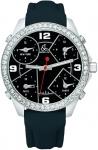 Jacob & Co Five Time Zone - 40mm, 2ct Bezel JC-M2 2.00 carat bezel watch