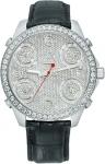 Jacob & Co Five Time Zone - 40mm, 2ct Bezel JC-M30 2.00 carat bezel watch